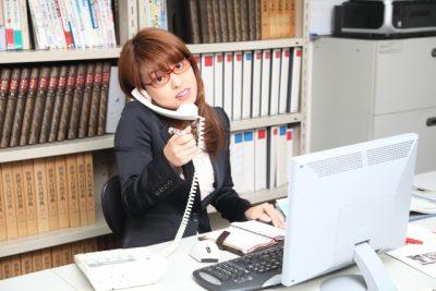 忙しい女性