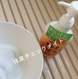 柿渋ボディソープ1